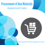 Procurement of Raw Materials