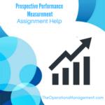 Prospective Performance Measurement