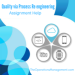 Quality via Process Re engineering